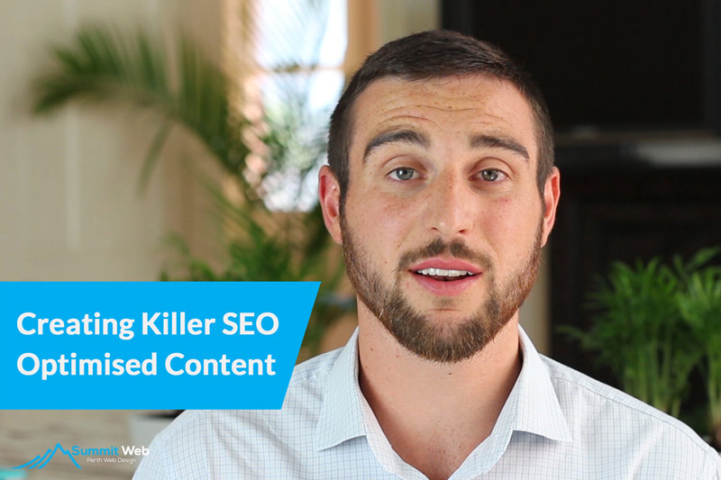 Creating Killer SEO Optimised Content For Your Australian Website [Video]