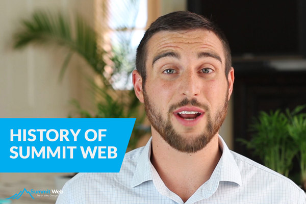 History of Summit Web Perth by Chris Dinham
