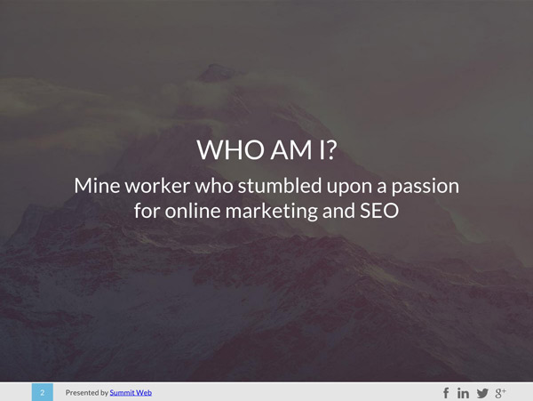 Who is Chris Dinham, Summit Web's Founder.