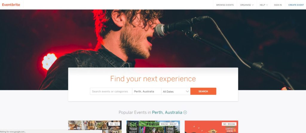 Use eventbrite to create your event's for free and share it to your audience