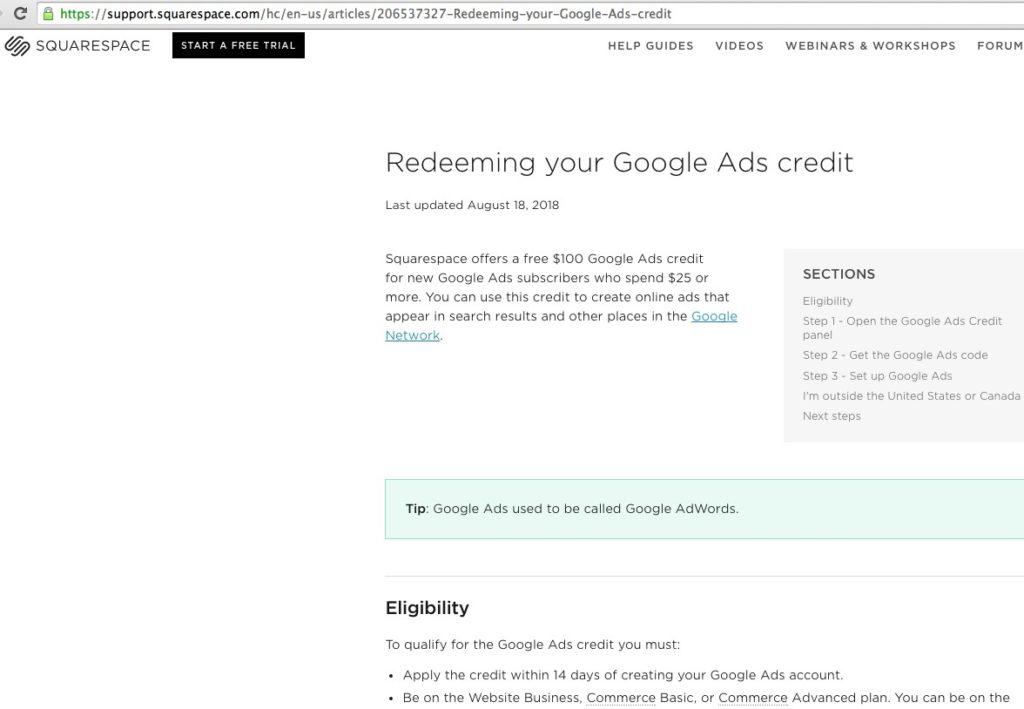 how to advertise on google for free in Australia
