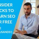6 Hack for Free SEO Training Perth