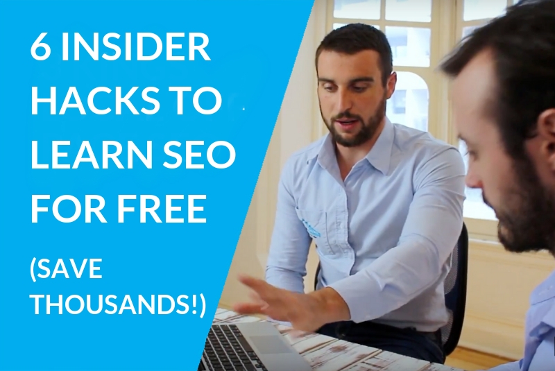 6 Insider Hacks to Get Expert SEO Training For Free (Save Thousands!)